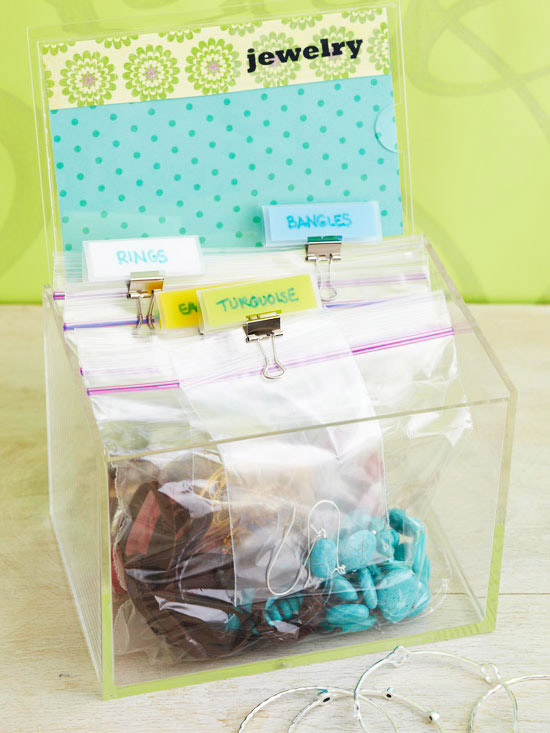 6 Ways to Use Resealable Plastic Bags