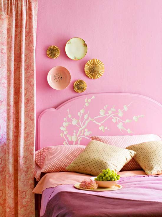 Sweet Stencils for Home Accessories