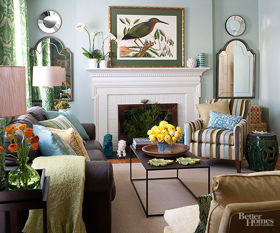 bhg living room design ideas. Wide Open Space A Light and Relaxed Living Room Makeover