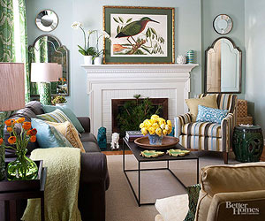A Light and Relaxed Living Room Makeover