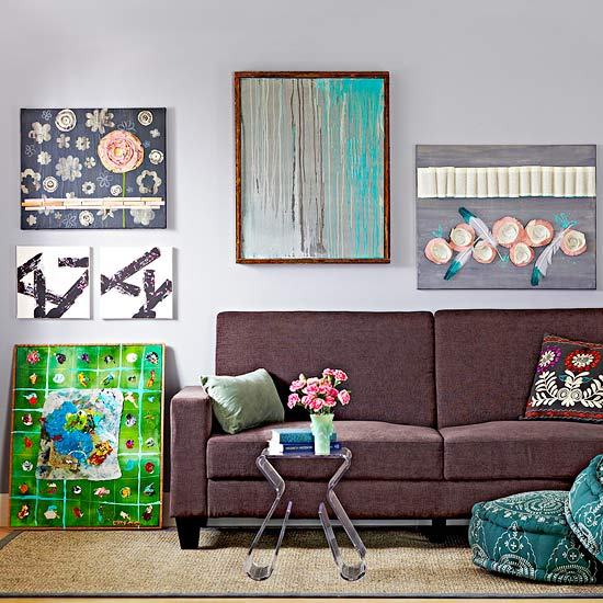 14 easy canvas wall art projects better homes gardens