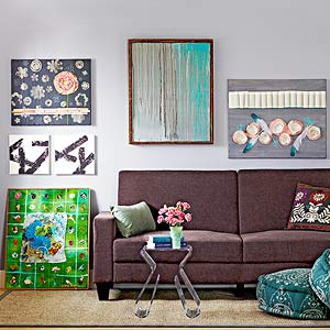 14 Easy Canvas Wall Art Projects - Better Homes & Gardens - BHG.com