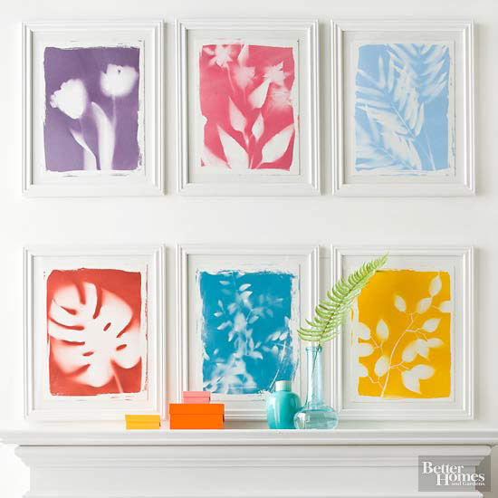 Do It Yourself Home Decorating Ideas: DIY Artwork: Botanical Prints