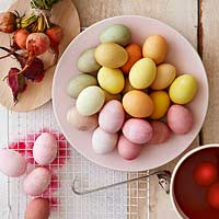 Natural Egg-Dye Formulas
