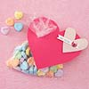 Valentine with Conversation Candy Hearts
