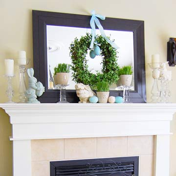 Real Homes, Real Mantels