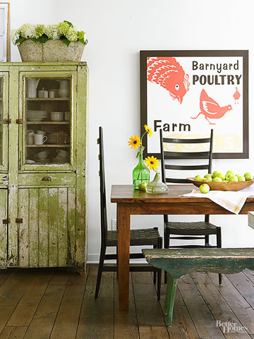 Mix Country & Cottage Styles