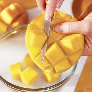 How to peel a mango how to cube a mango ccuart Gallery