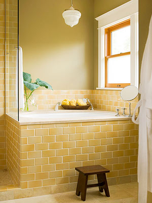 Yellow Subway Tile