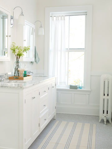 Beautiful White Baths