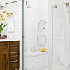 White Tile Bath
