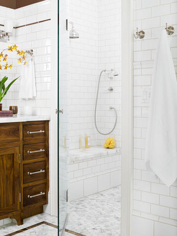 Crisp White Bathrooms