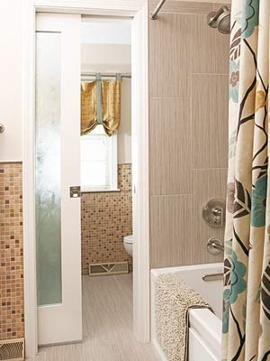 Storage-Packed Bathroom Remodel
