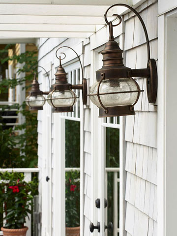 Stylish Exterior Lighting Ideas
