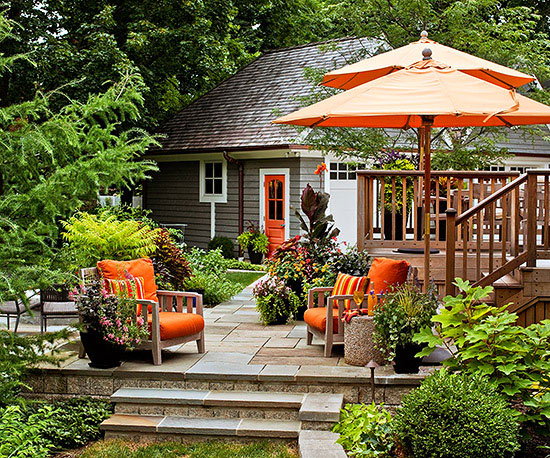 deck decor ideas better homes and gardens