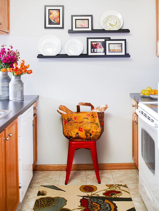Space-Saving Tips for a Small-Kitchen Remodel