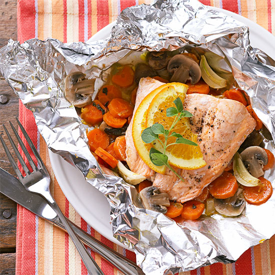 How to bake salmon baked salmon in foil for oven baked ccuart Gallery