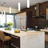 Dramatic Kitchen Surfaces