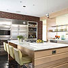 Classic Touch in a Modern Kitchen