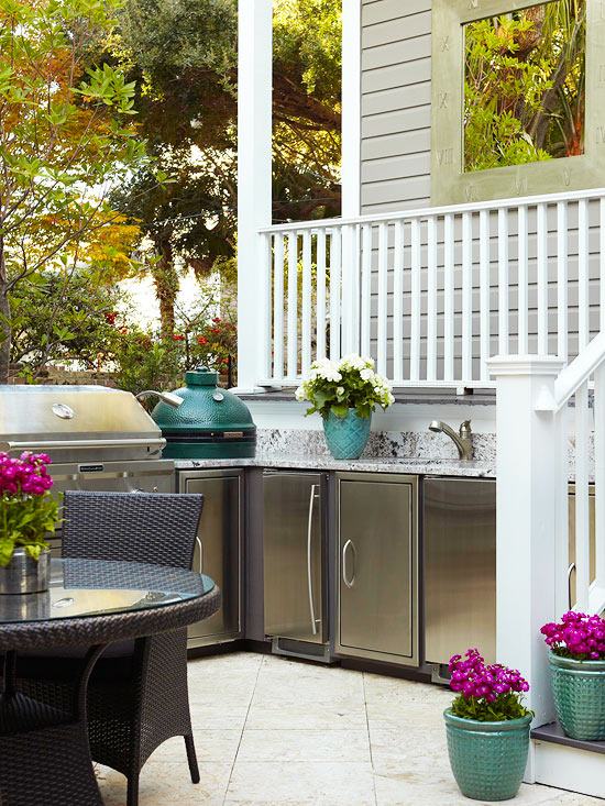 Outdoor Kitchen Cabinet Ideas
