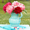 Pitcher of Peonies for Mother's Day