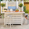Use a Nontraditional Patio Table