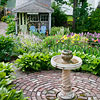 Use a Birdbath as a Focal Point