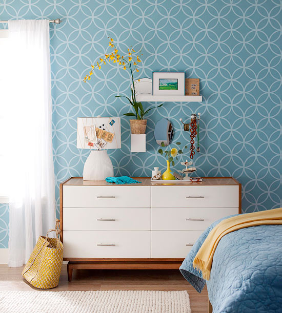 DIY-ify: Add color with fabric covered panels
