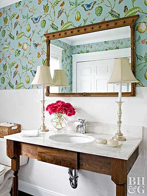 Powder Room Ideas – Better Homes and Gardens – BHG.com
