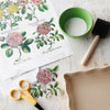 How to Decoupage Hard Surfaces