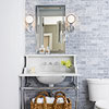 Elegant Powder Room Design Idea