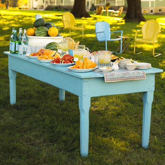 Outdoor Buffet Tips And Ideas From Better Homes And Gardens