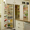 Built-In Pantry Shelving