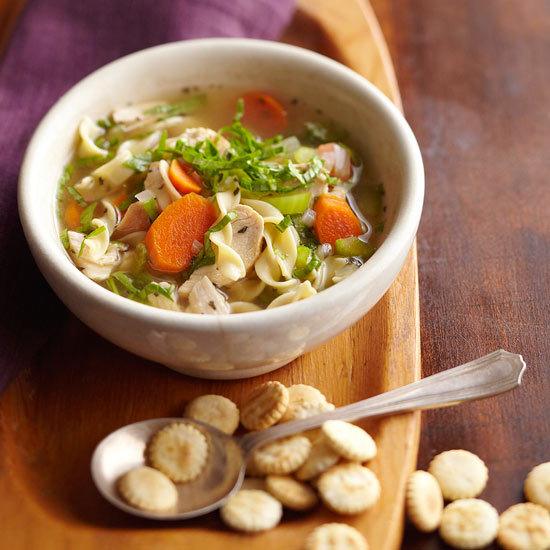 How to Make Chicken-Noodle Soup