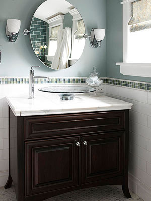 Add A Border To The Top Of A Ceiling Wainscoting Backsplash Or Tub Edging One Bathroom Tile Idea Is To Define A Bathroom