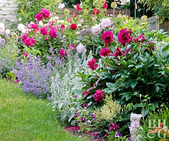 Flower arrangements from the garden Better homes and gardens flower bed designs