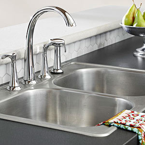 whatever your style or budget you can find a stainless steel sink to suit your needs available as standard drop in models seamless undermount - Kitchen Steel Sinks