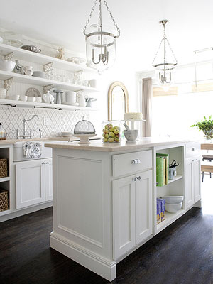 Most Kitchen Designs Can Accommodate An Island, But Some, Such As A Narrow  Galley, Just Donu0027t Offer Enough Space. In Some Layouts, An Island Might Be  In The ...