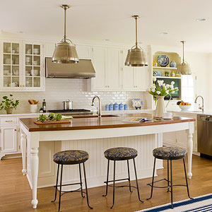 Kitchen islands designing an island better homes and for Better homes and gardens kitchen island ideas