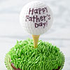 Happy Father's Day Golf Cupcake