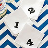 Numbered Party Napkins