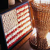 American Flag Button Craft