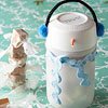 Snowman Snack-Container Craft