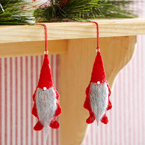 Make a Cute Gnome Christmas Ornament from Better Homes and Gardens