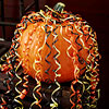 Curling-Ribbon Party Pumpkin