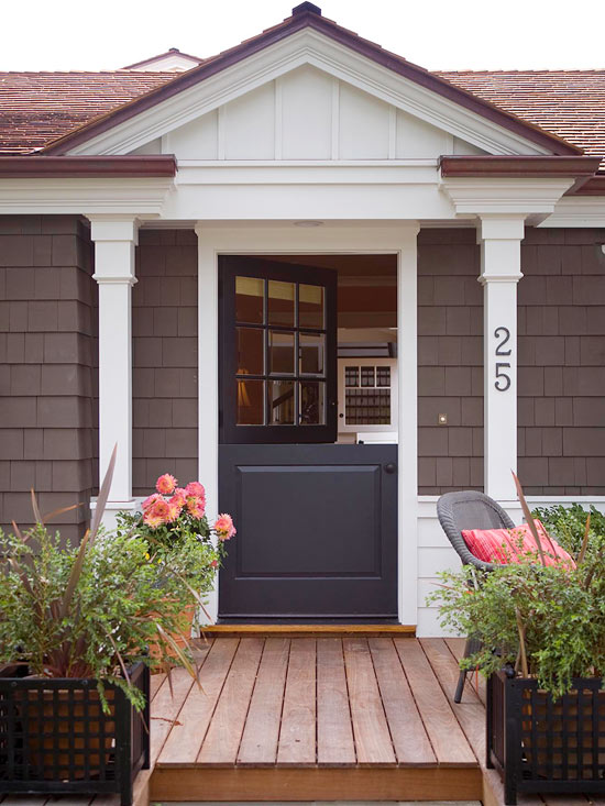 Cottage-Style Front Doors