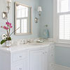 Dream Bath in Blue: Separate Spaces