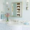Dream Bath in Blue: Vanity Mirror