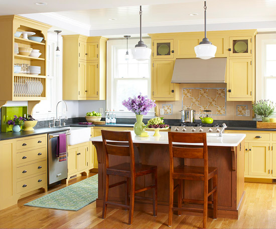 Elements of a Country Kitchen