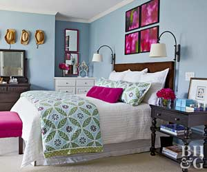 bedroom color schemes - Bright Color Bedroom Ideas